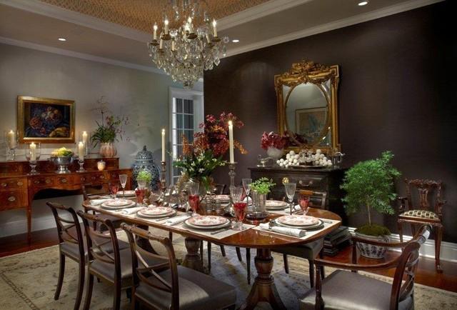 Sheridan Road Residence traditional dining room