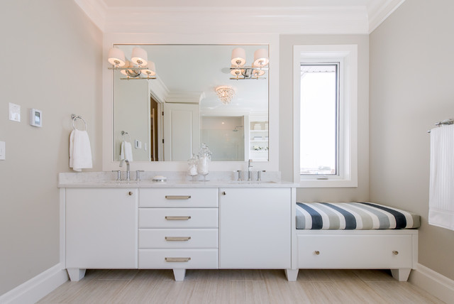 traditional bathroom by Maison Fine Homes & Interior Design