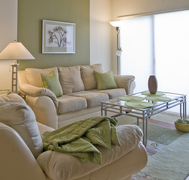 Green Tea Traditional Living Room Portland By Spectacular Design
