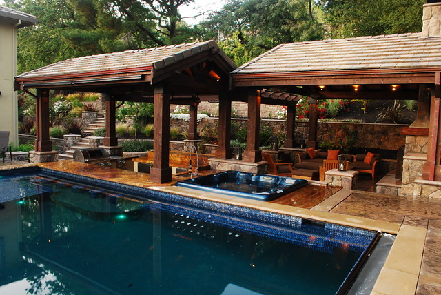 A Lavish Outdoor Living Space - Lafayette, CA ... on Houzz Outdoor Living Spaces id=39772