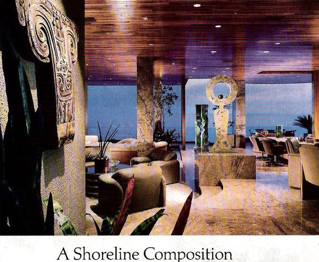 Steve Chase Associates Contemporary Living Room