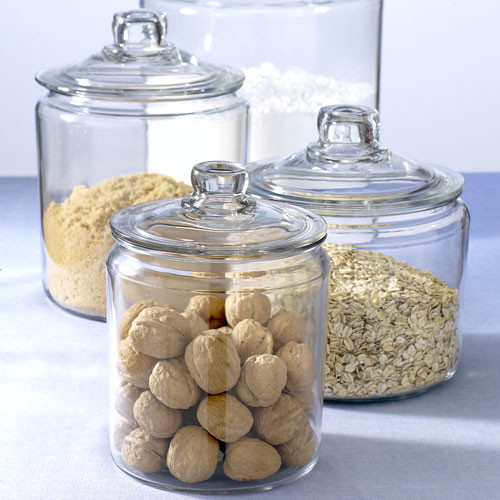Apothecary Jars Stonewall Kitchen Traditional Bathroom Canisters