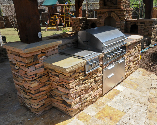 Overhead Structure/Grilling Station/Fireplace on Patio Grill Station  id=21916