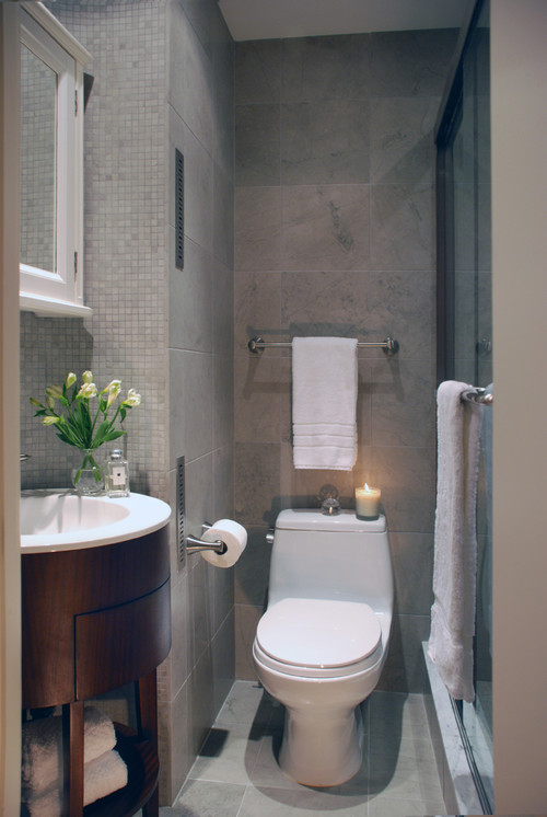 Add a Scented Candle - Guest Bathroom