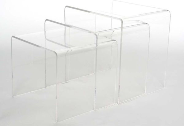 Altha Acrylic Nesting Table Set