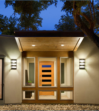 Contemporary Exterior Wall Sconce Lighting - Contemporary ... on Modern Outdoor Sconce Lights id=78624