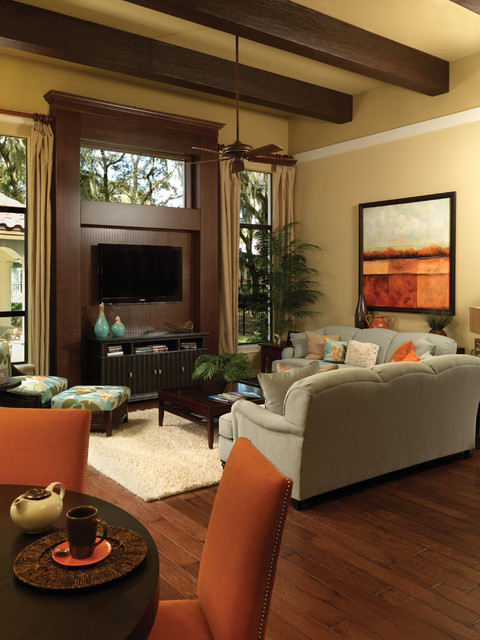 Gulfport 1093 Traditional Living Room tampa by