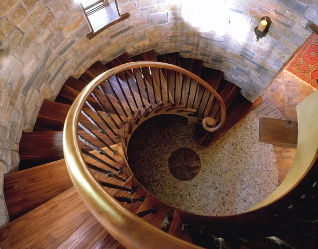 Turret Staircase Traditional Staircase Minneapolis