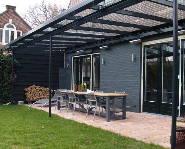 Monument Hides Cool Design - Contemporary - Patio - other ... on Patio Cover Ideas Uk id=85093