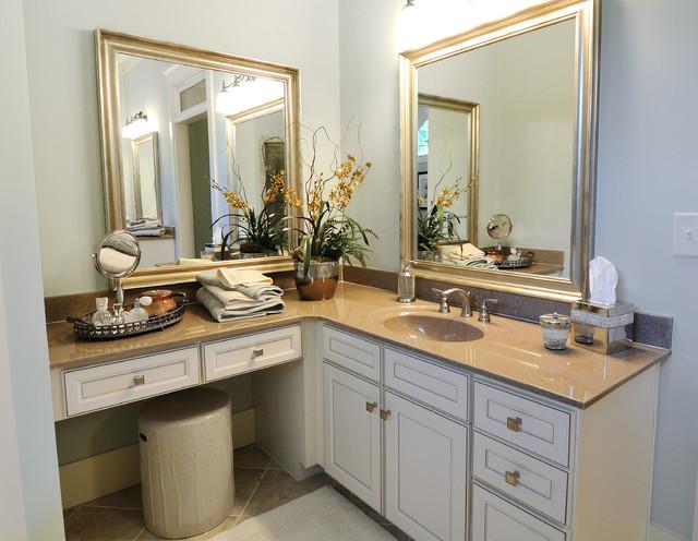 Big Canoe Model Homes - Contemporary - Bathroom - atlanta ... on Model Bathroom  id=65113