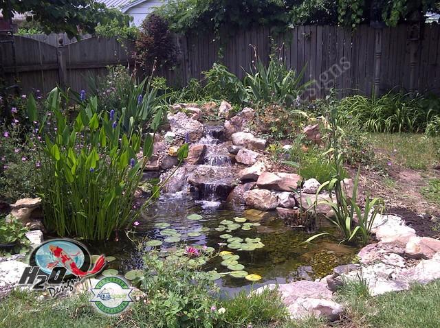 KOI Pond, Backyard Pond & Small Pond Ideas for your ... on Backyard Koi Pond Designs  id=76995