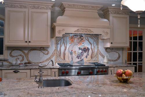 Typhoon Bordeaux White Cabinets Backsplash Ideas on Typhoon Bordeaux Granite Backsplash Ideas  id=68194