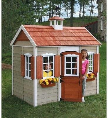 wood playhouses