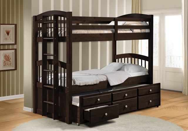 Youth Loft Bed With Pullout Home Decorating Ideas