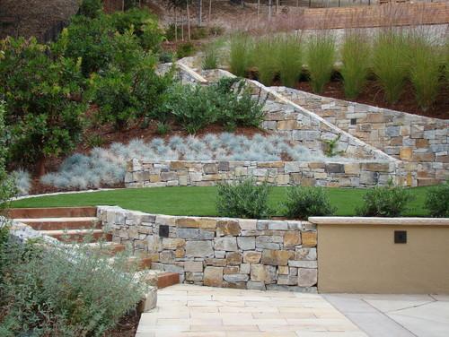 Landscaping Ideas For Hillside: Backyard Slope Solutions ... on Uphill Backyard Landscaping Ideas id=80895
