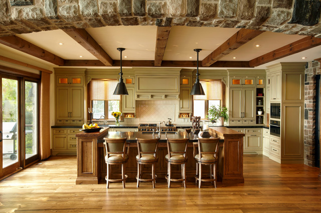 The Cottage - Rustic - Kitchen - toronto - by Parkyn Design on Rustic:mophcifcrpe= Cottage Kitchen Ideas  id=58987