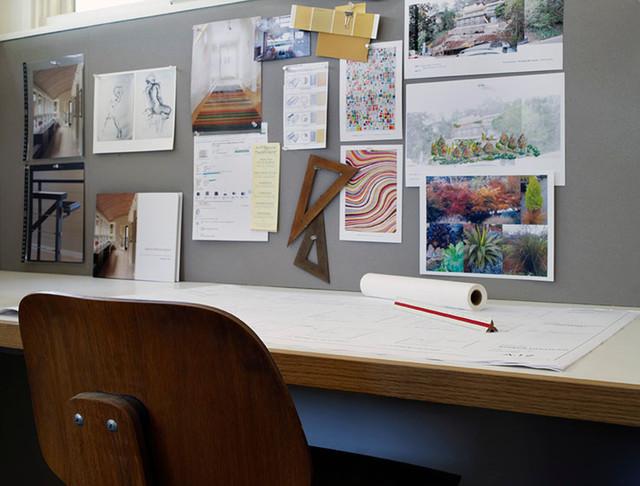 modern home office by Sharon Portnoy Design