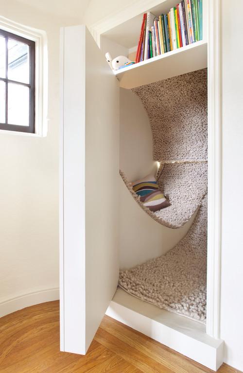 modern kids Cozy reading areas