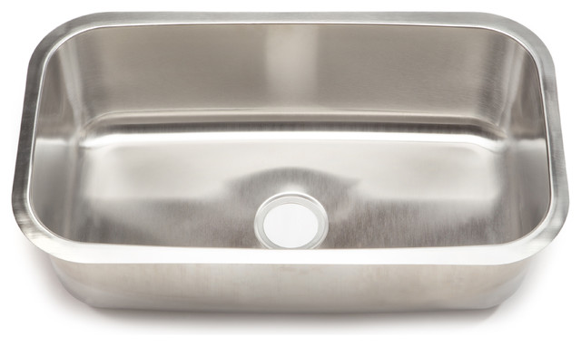 Clark Stainless Steel Extra Large Single-bowl Undermount