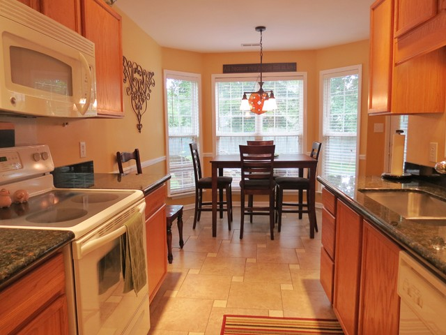 Alley Style Kitchen Upgrade Traditional Kitchen