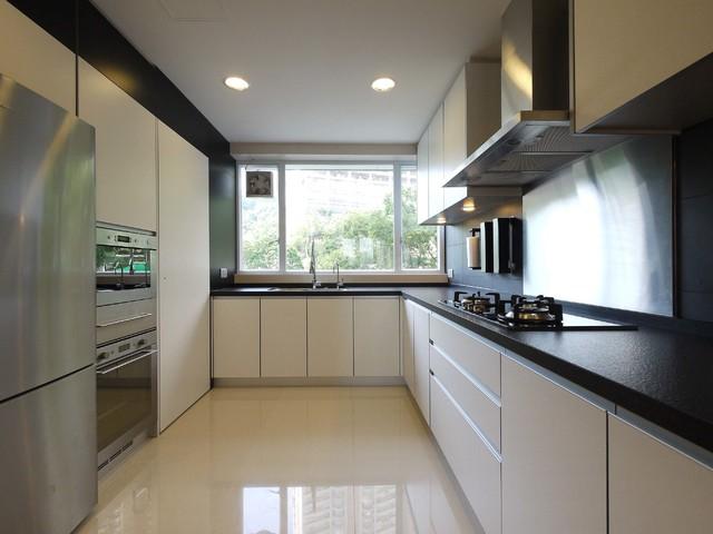 Mordern Indian Apartment Contemporary Kitchen Hong