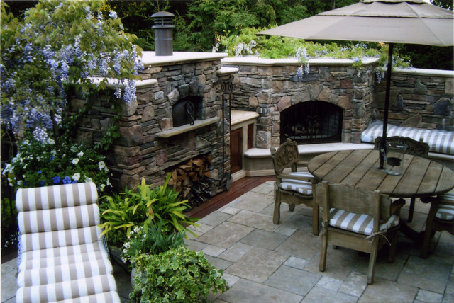 Outdoor Wood Fired Pizza Ovens - Flat Roof Oven ... on Outdoor Patio With Pizza Oven  id=12353