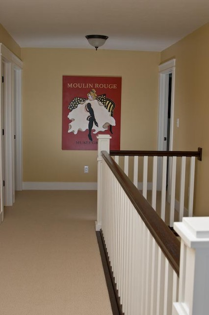 Upstairs Hallway Craftsman Hall Indianapolis By