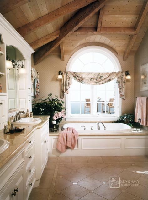 Cape Cod Master Bath Traditional Bathroom Santa Barbara By Maraya Interior Design