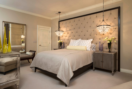 Bedroom Chandeliers At The Bedside Lights Online Blog Photo Credit Contemporary By