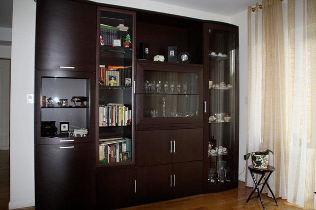 Wall Unit - Contemporary - Living Room - new york - by MIG ... on Living Room Wall Units id=46367
