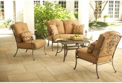 Martha Stewart Living Patio Tables. Miramar II 4-Piece ... on Martha Living Patio id=42969