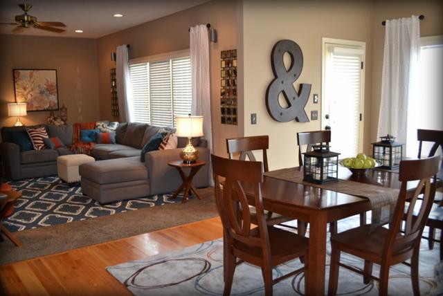 Gray Family Room Decorating Ideas