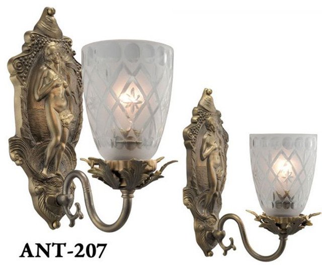 Wall Sconces Victorian | Home Decoration Club on Victorian Wall Sconces id=64657