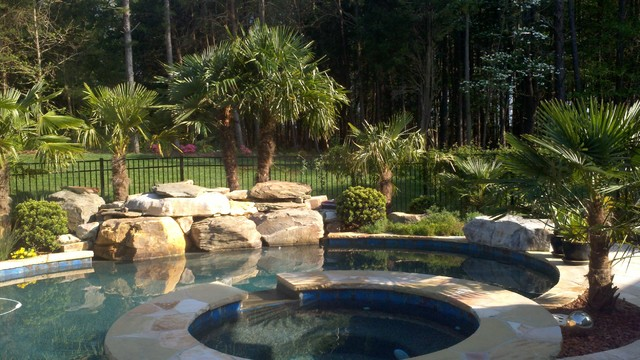 Windmills Tropical Pool Charlotte By Paradise