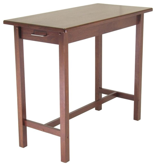 Kitchen Island Pub Table Drawers Espre Contemporary Bar Tables