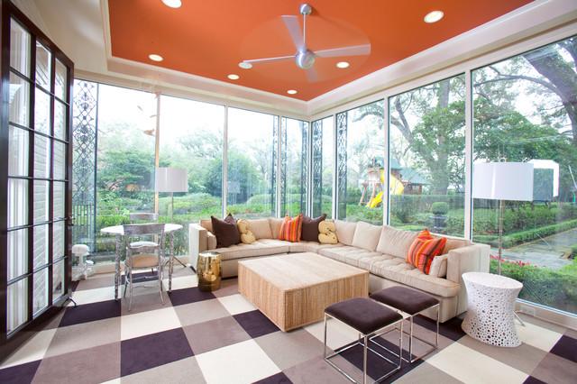 contemporary porch by Laura U, Inc.