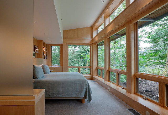contemporary bedroom by Thielsen Architects, Inc. P.S.