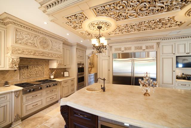 Astounding Ornate Kitchen