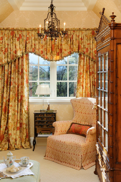 English Tudor Traditional Bedroom San Francisco By