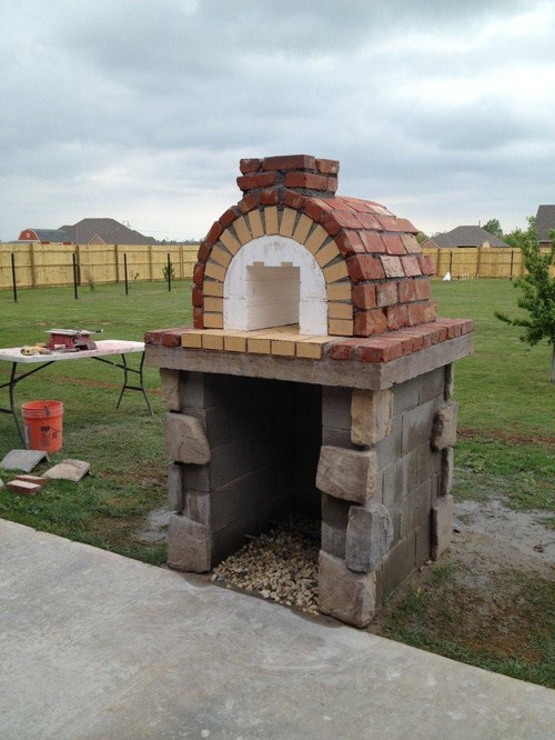 10 Outdoor Pizza Oven Design Ideas - DIY Cozy Home on Outdoor Patio With Pizza Oven  id=12246