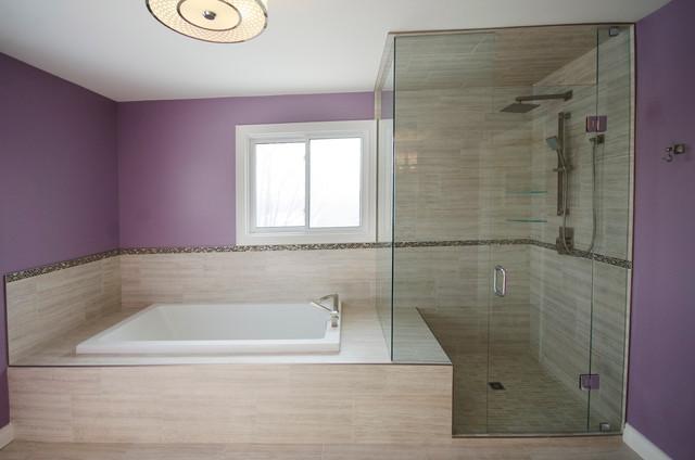 Stepless Showers Contemporary Bathroom Toronto By Floor And Bath Design