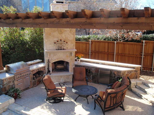 Southwest Fence & Deck: Outdoor Living Space - Traditional ... on Houzz Outdoor Living Spaces id=47101