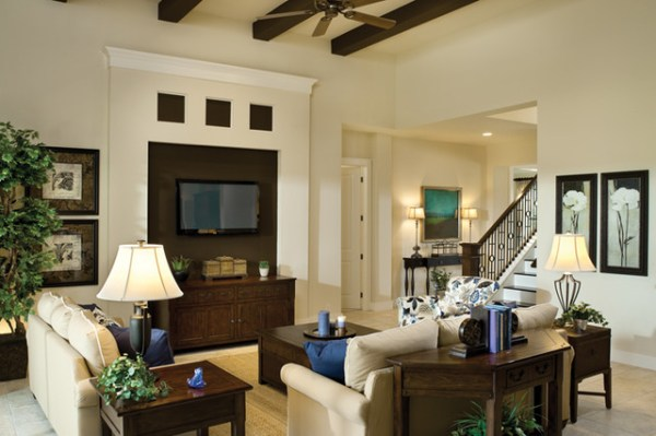Juniper 1144 Traditional Living Room tampa by