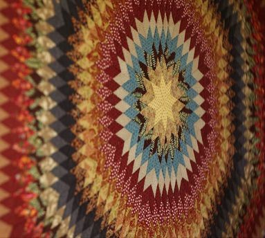 Museum Craft Collection - American Folk Art Museum Sunburst Quilt traditional-quilts-and-quilt-sets
