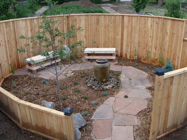 Meditation Garden - Traditional - Landscape - denver - by ... on Meditation Patio Ideas  id=30249