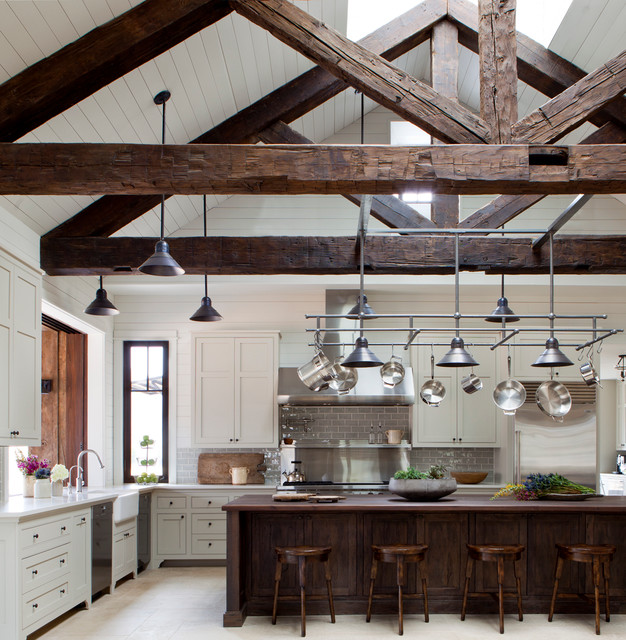 Frio Family Retreat farmhouse-kitchen