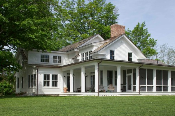19th Century Farmhouse Renovation; updated photos by Mick ...