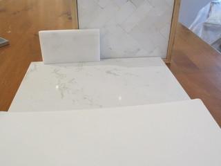 Does A Marble Backsplash Work W Cambria Torquay