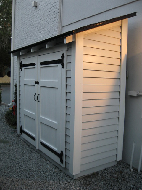 Side House Storage Shed