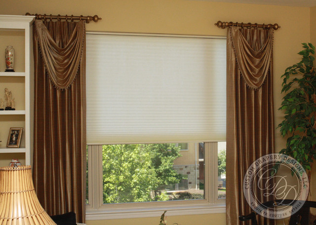 Window Treatments Red Toile Cafe Curtains